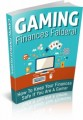 Gaming Finances Falderal MRR Ebook