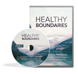 Healthy Boundaries Video Upgrade MRR Video With Audio