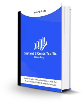 Instant 2cents Traffic Made Easy Personal Use Ebook
