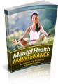 Mental Health Maintenance Give Away Rights Ebook