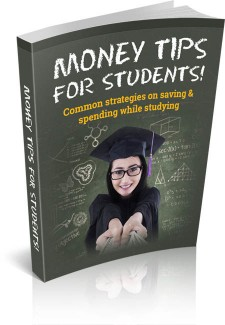 Money Tips For Students MRR Ebook