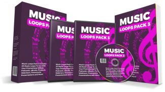 Music Loops Pack 3 PLR Audio