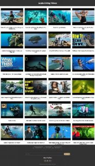 Scuba Diving Instant Mobile Video Site MRR Software