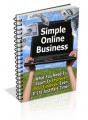 Simple Online Business Mrr Ebook