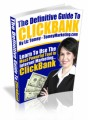 The Definitive Guide To Clickbank Mrr Ebook