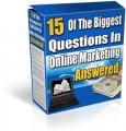 15 Of The Biggest Questions In Online Marketing MRR Ebook