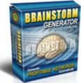 Brainstorm Generator Resale Rights Software