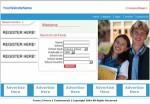 Classmates Website Blue Personal Use Template