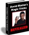 David Blaine's Magic Tricks Revealed Resale Rights Ebook