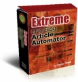 Extreme Live Blog Article Automator Resale Rights Software