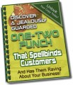 One-Two Punch That Spellbinds Customers MRR Ebook