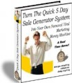 Turn The Quick 5 Day Sale Generator System Resale ...