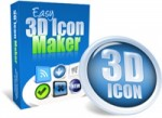 Easy 3D Icon Maker Personal Use Graphic