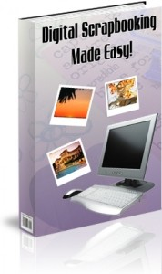 Digital Scrapbooking Made Easy Plr Ebook
