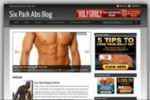 Six Pack Abs Blog Personal Use Template