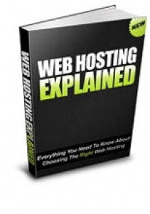 Web Hosting Explained Resale Rights Ebook With Audio & Video