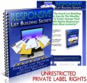 Responsive List Building Secrets Plr Ebook