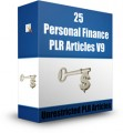 25 Personal Finance Plr Articles V9 PLR Article