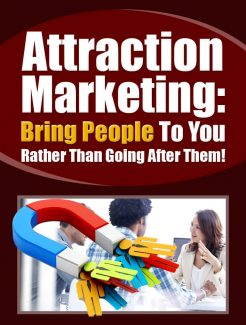 Attraction Marketing PLR Ebook