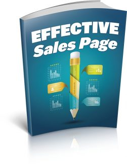 Effective Sales Page MRR Ebook