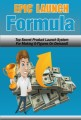 Epic Launch Formula PLR Ebook With Video