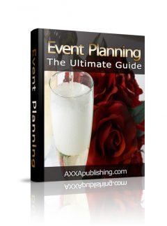 Event Planning PLR Ebook