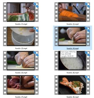 Food Stock Videos One – V2 MRR Video