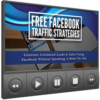 Free Facebook Traffic Strategies Video Upgrade MRR Video