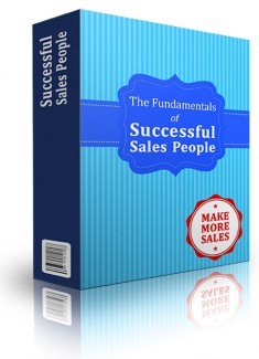 Fundamentals Of Successful Sales People Personal Use Ebook