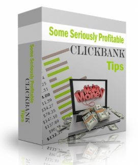 Some Seriously Profitable Clickbank Tips PLR Audio