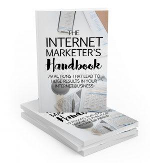 The Internet Marketers Handbook MRR Ebook