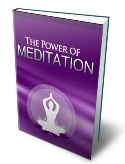 The Power Of Meditation MRR Ebook