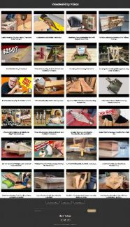 Woodworking Instant Mobile Video Site MRR Software