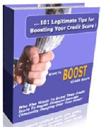 101 Powerful Tips For Legally Improving Your Credit Score PLR Ebook