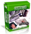Private Label Article Pack : Computer Articles PLR Article