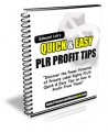 Quick And Easy Plr Profit Tips Give Away Rights Ebook