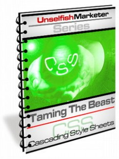 Taming The Beast – Cascading Style Sheets MRR Ebook