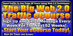 The Big Web 20 Traffic Ecourse Personal Use Autoresponder Messages