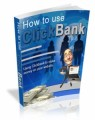 How To Use Clickbank Mrr Ebook