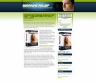 Migraine Landing Page Template Personal Use Template