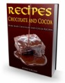 Chocolate And Cocoa Recipes Plr Ebook