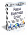 Forum Marketing Secrets Plr Autoresponder Messages