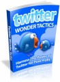 Twitter Wonder Tactics Plr Ebook