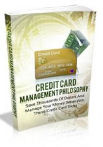 Credit Card Management Philosophy Mrr Ebook