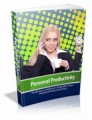 Personal Productivity Mrr Ebook