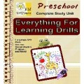 Everything For Learning Drills - Preschool MRR Ebook