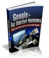 Google Plus For Internet Marketers Give Away Rights Ebook
