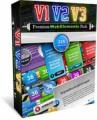 Premium Web Elements Triple Pack Personal Use Graphic