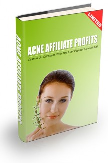 Acne Affiliate Profits Resale Rights Ebook With Video