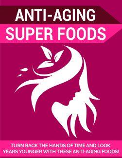 Anti-aging Super Foods PLR Ebook